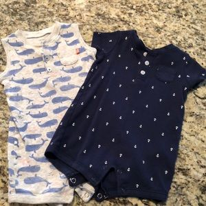 Baby boy one piece set